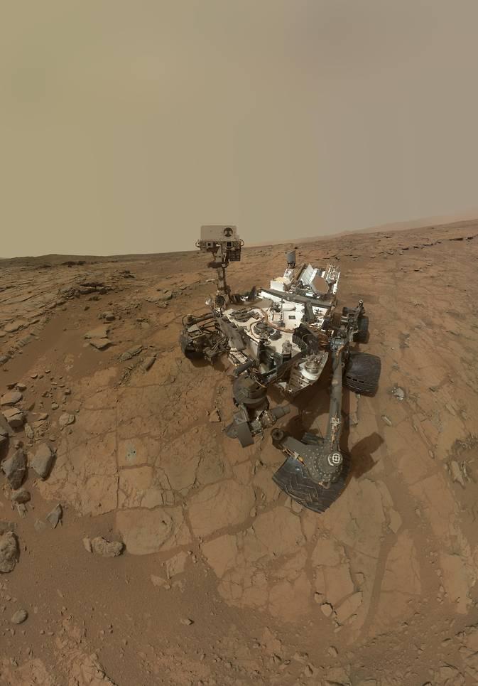 Exploración del Curiosity en Marte revive esperanza de hallar agua