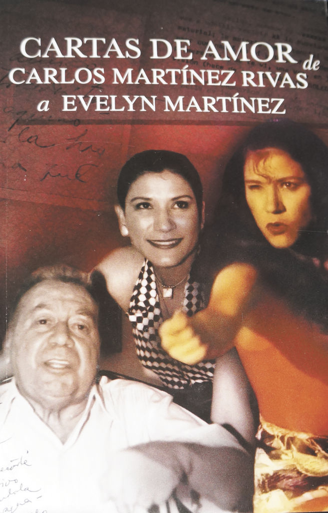 Carta de Omar D'León sobre libro,  Cartas de amor de Carlos Martínez Rivas a Evelyn Martínez