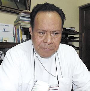 Obispos nicaragüenses no están divididos, dice monseñor Abelardo Mata