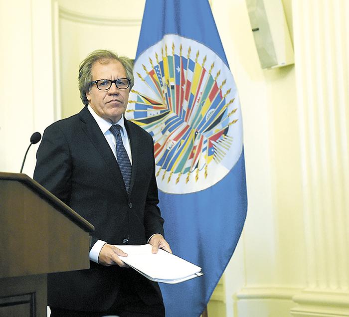 Oposición nica informa a Almagro arbitrariedades del CSE