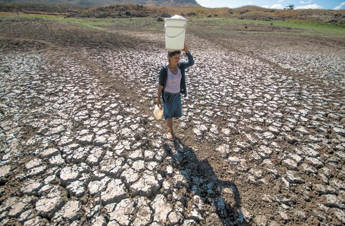 La afectación por segundo año consecutivo del fenómeno climático de El Niño,  amenaza con secar más las fuentes de agua que abastecen a todo el país. La Prensa/ archivo