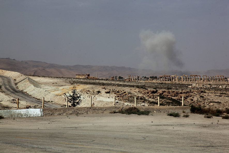 Estado Islámico irrumpe en el Museo de Palmira en Siria