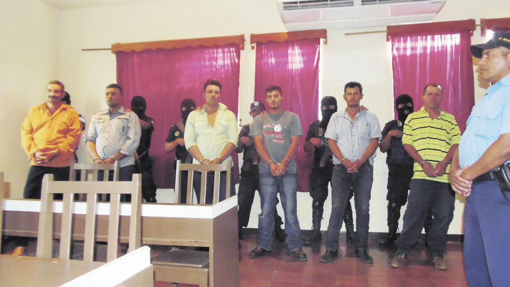 Seis capturados por crimen en Condega