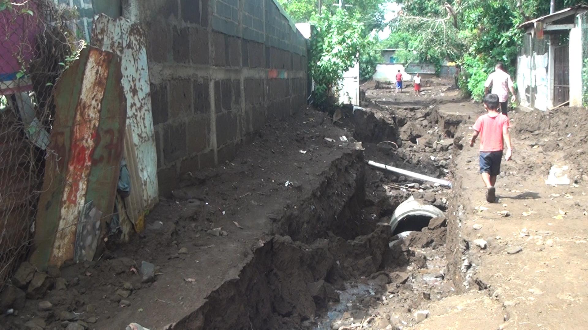 Avenida en el Jonathan ejecutada por Empresa Subcontratista y no por ALMA