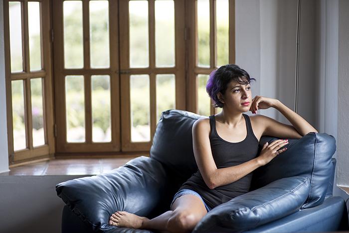 Gloria combate los prejuicios hacia las enfermedades mentales hablando sin miedo sobre su trastorno. LA PRENSA/Mayerling García/Cortesía.