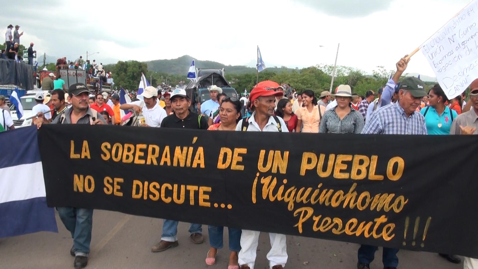 Existe trasfondo del gobierno de no oponerse a la última marcha del canal