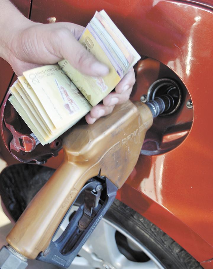 No cesa el alza de las gasolinas