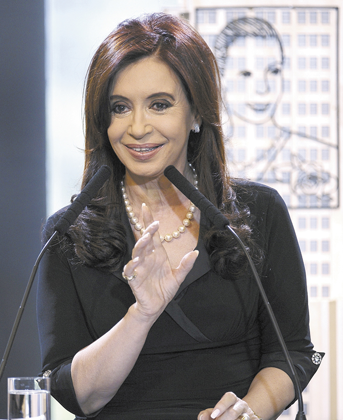ARGENTINA-KIRCHNER-HEALTH-FILES
