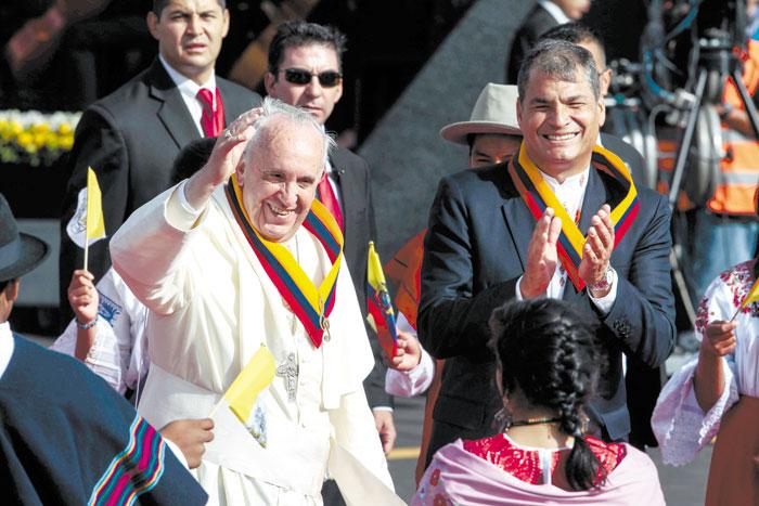 Papa llama al  diálogo inclusivo