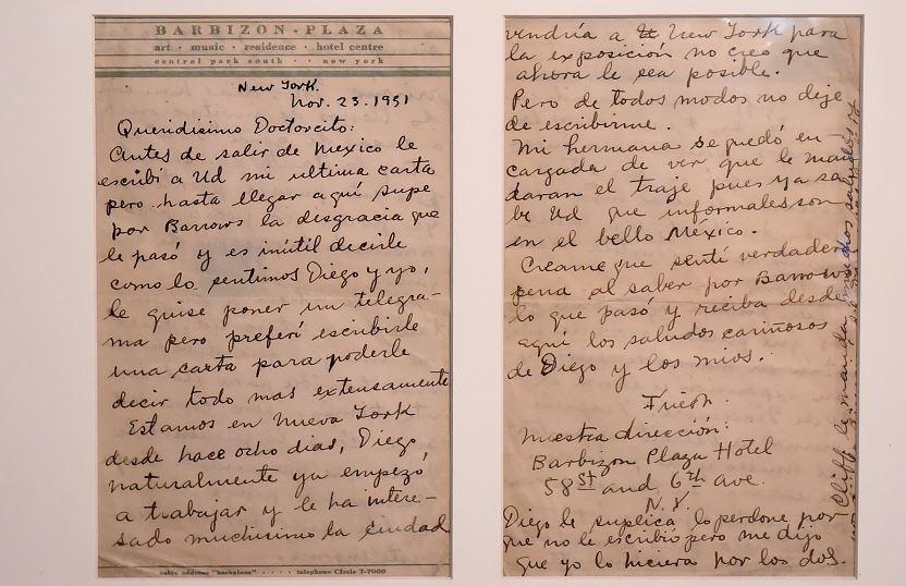 Cartas de Frida Kahlo revelan aspectos íntimos de su vida