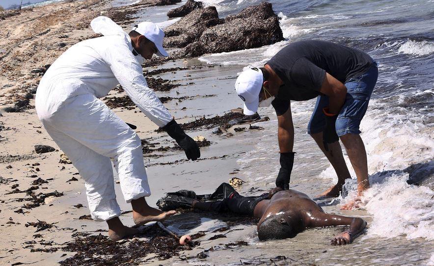 Resultado de imagen para muerto naufragios de migrantes