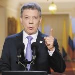 Juan Manuel Santos, presidente de Colombia. LAPRENSA/EFE