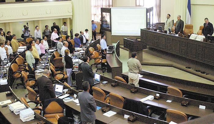 Minoría opositora sin voz en la Asamblea Nacional