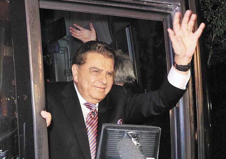 Y así don Francisco  dijo adiós a su Sábado Gigante. ¡Hasta pronto! LA PRENSA/EFE