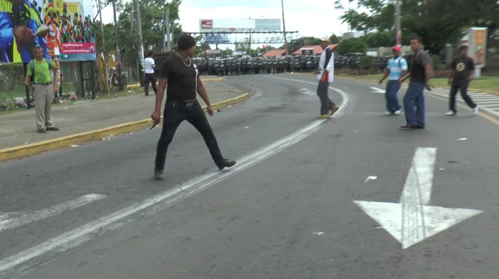 Ciudadano dispara en protesta contra el CSE