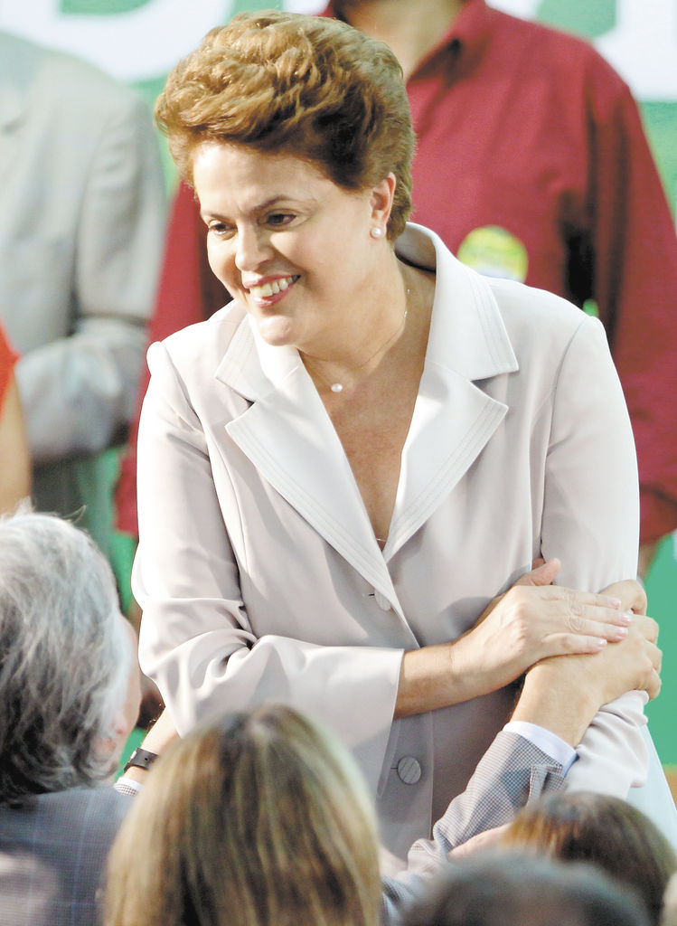 """¡Brasil, esta tu hija  no va a huir de la lucha!"", Dilma Rousseff, 2014."