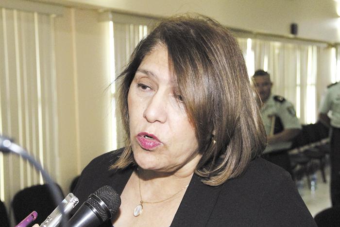 Ana Julia Guido,  fiscal general de la República. LA PRENSA