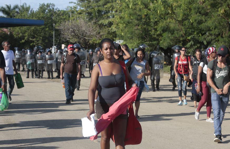 Son más de 3,000 los cubanos que esperan salir de Costa Rica para seguir su rumbo por Centroamérica y llegar a Estados Unidos. LA PRENSA / CORTESÍA
