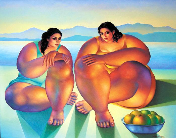 Resultado de imagen para Pinturas de Sergio Velásquez