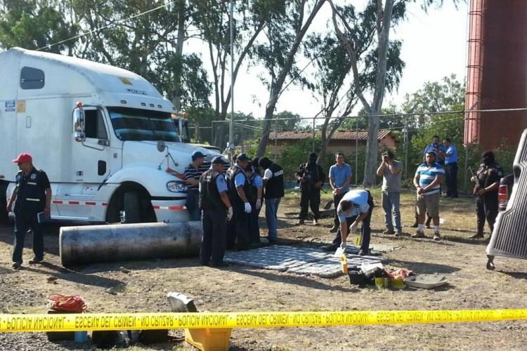 El quiebre se realizó en el kilómetro 17 de la carretera Nueva a León el sábado 4 de diciembre. LA PRENSA/W. Narváez