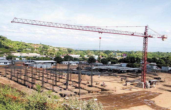 Los fondos de 2015 para la construcción del Hospital General de la Zona Occidental de Managua  fueron recortados por el ejecutivo. LA PRENSA/J. FLORES