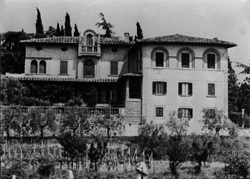 Villa Wanda, en la periferia de la ciudad de Arezzo, Italia, donde Licio Gelli vivió los últimos 34 años de su vida.