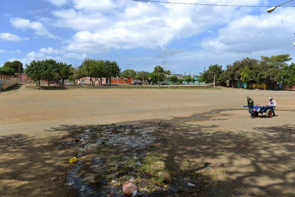 El campo deportivo pasará de ser un estadio de beisbol infantil a un complejo multideportivo