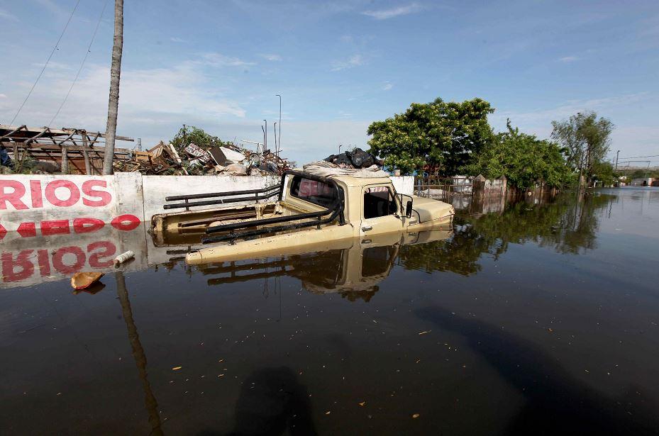Por las crecidas de los ríos Paraguay y Paraná, la ciudad del país más castigada por la crecida es Asunción, donde hay unos 90,000 evacuados. LA PRENSA/EFE