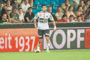 Juan Barrera disputó cinco partidos con el Altach. LAPRENSA/ CORTESÍA