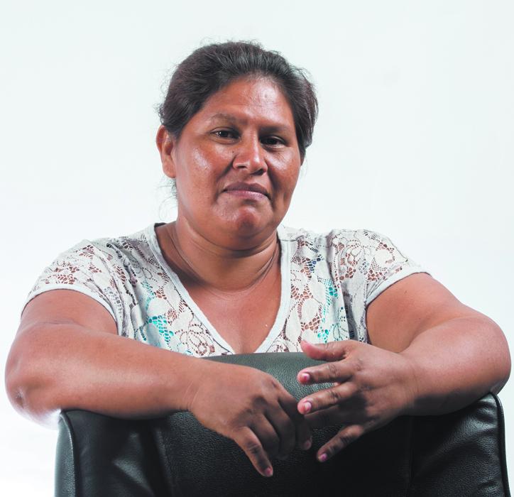 Managua,Nicaragua 28/12/2015:Personaje del Año Francisca Ramirez Torres. Foto: Jorge Torres/La Prensa
