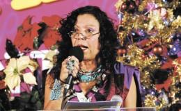 Rosario Murillo, primera dama y coordinadora del Consejo de Comunicación y Ciudadanía. LA PRENSA/ARCHIVO LA PRENSA/ARCHIVO
