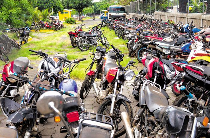 En el Depósito Vehicular de Managua caben 350 vehículos livianos, 400 pesados, 100 motos y 50 carretones.