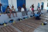 Ejército de Nicaragua detiene a ocho extranjeros con droga