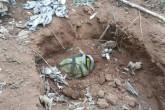 Hallan cocaína enterrada en lugar de donde salió avioneta abandonada con droga en Nicaragua