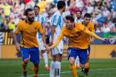 El Barcelona ganó con sufrimiento ante Málaga en la Liga española