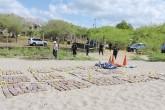 Incautan 500 kilos de droga en Nicaragua