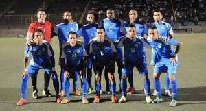 La alineación de la Selección de Futbol ante Honduras. LAPRENSA/ JORGE TORRES