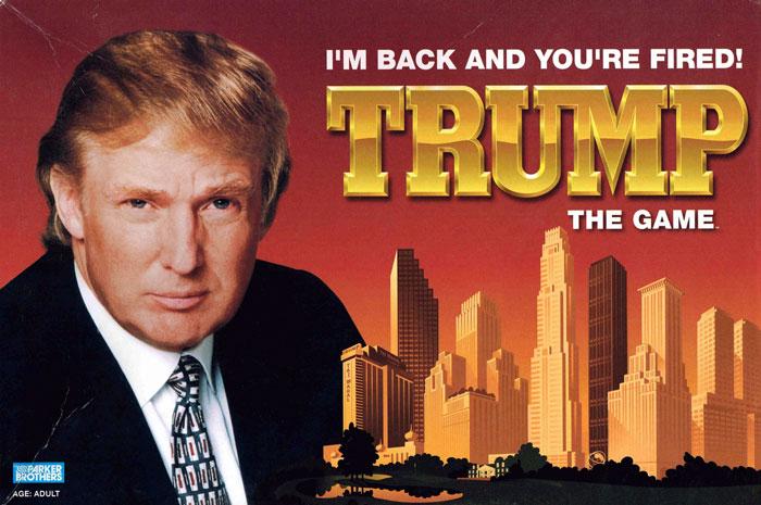 Donal Trump, juego, Estados Unidos,