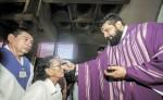 La Iglesia católica se prepara para celebrar la Cuaresma, con la celebración litúrgica del Miércoles de Ceniza.  LA PRENSA/ ARCHIVO