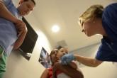 Jornada quirúrgica para operar a niños con labio y paladar hendido