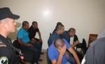 Los acusados por crimen organizado y tráfico de cocaína enfrentarán juicio el 4 de abril próximo. LA PRENSA/LUIS EDUARDO MARTINEZ M.