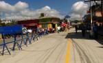En la calle central de Boaco, los comerciantes aseguran que han tenido pérdidas por el cierre de la vía. LA PRENSA/MELVIN RODRÍGUEZ