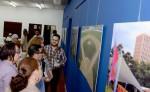 La exposición fotográfica de la Alcaldía de Managua  contiene solo imágenes con proyectos realizados por la actual administración. LAPRENSA/R. FONSECA