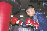 Randy Caballero noqueó en su regreso al boxeo