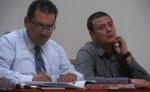 Tras el fallo  de no culpabilidad se giró la orden de libertad a favor de Roberto Alexander Luna Molina (derecha).