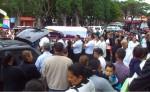La reconocida maestra jinotegana Sofía Espinoza Ortiz fue sepultada ayer.  Ella resultó lesionada durante el accidente ocurrido en el empalme El Guayacán, al suroeste de la ciudad de Matagalpa.  LA PRENSA/CORTESÍA