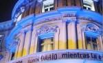 La Casa de América de Madrid lució de azul en homenaje al poeta nicaragüense Rubén Darío, considerado el padre del modernismo en lengua española. LA PRENSA/ DORA LUZ ROMERO LA PRENSA/ DORA LUZ ROMERO