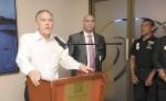 Javier Solórzano, presidente y CEO del Hotel Holiday Inn,  dijo que más que un hotel y un casino, son generadores de empleo.  la prensa/luis gutiérrez