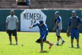 Marvin Benard a afinar a los bateadores de la Preselección