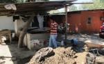Este es el pozo en el que falleció Aroldo Hernández Sánchez, de 35 años cuando excavaba en búsqueda de agua. LA PRENSA/E.LOPEZ